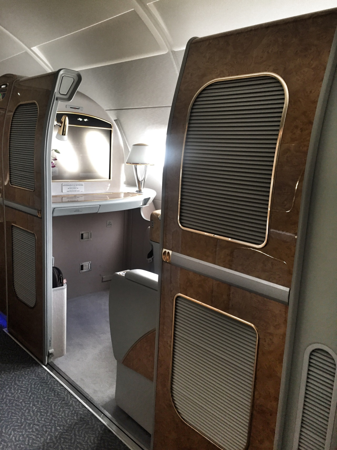 The Big Flight Over – Emirates First Class Review