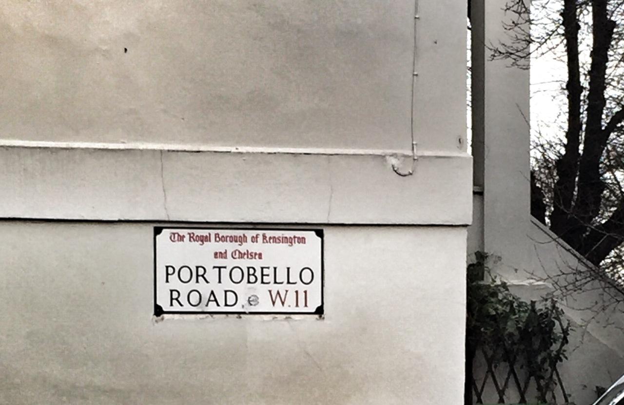 Saturday in London? Portobello Markets ofCourse!